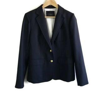 J Crew Rhodes Blazer Jacket 100% Italian Wool 1312